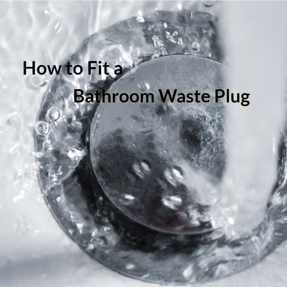 How to fit a bathroom waste