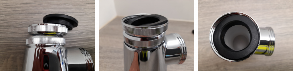 Fitting Waste to Bottle Trap