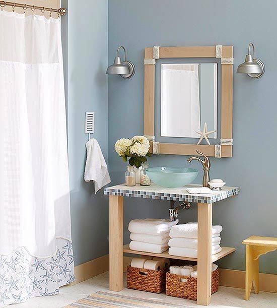 Clear Glass Sink Bathroom Wash Stand
