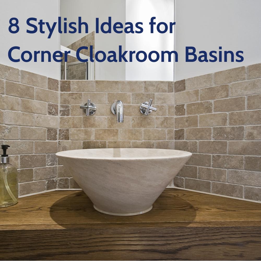 8 Stylish Ideas for Corner Cloakroom Basins