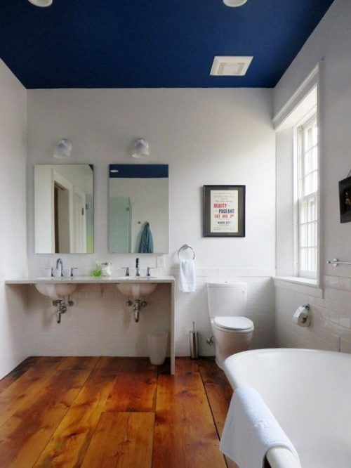 paint your bathroom ceiling for under £50