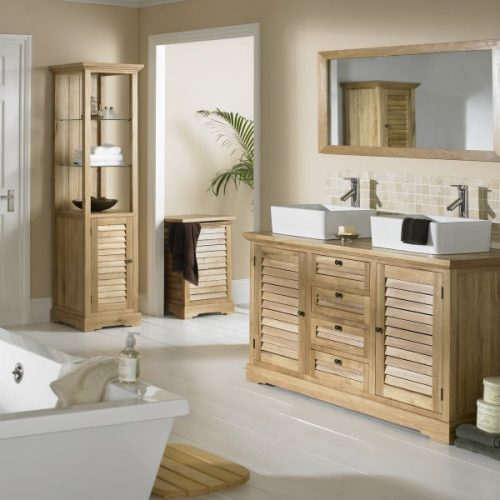 Look after your oak bathroom furniture
