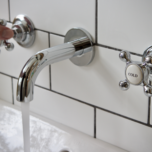 Wall Hung Taps and Tiles