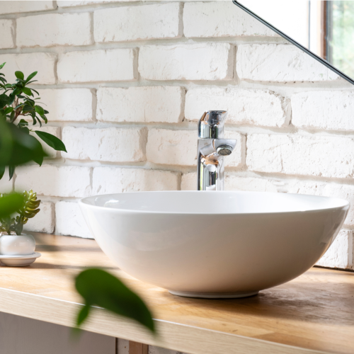 What is a countertop basin ?