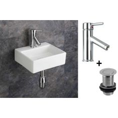 Salerno Basin + Tap + Waste Set