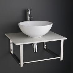 Basin and Marble Shelf Set