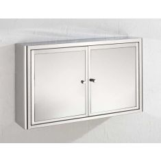 Large Bathroom Mirror Bathroom Storage Cabinet 800mm x 500mm NANCY