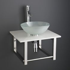 Basin and Marble Shelf Set