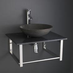 Portici Basin and Marble Shelf Set