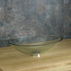 Monza 51cm x 38cm Clear Oval Basin