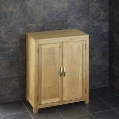 65cm Oak Bathroom Cabinet