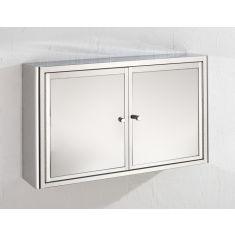 Bathroom Mirror 2 Door Bathroom Storage Cabinet 600mm x 380mm NANCY