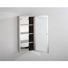 Palma Single Door Mirror Wall Cabinet