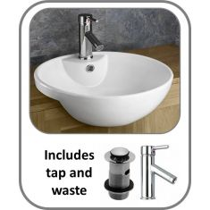 Alsace Basin + Tap + Waste Set