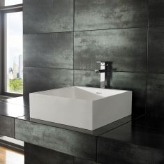 Alto Pure White Solid Surface Basin