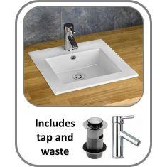 Berne  Inset Basin + Tap + Waste Set