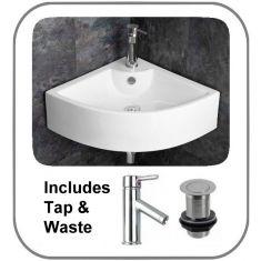 Prato Sink + Tap + Waste Set