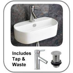 Sienna Basin + Tap + Waste Set