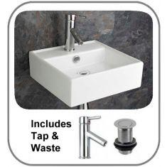 Tivoli Basin + Tap + Waste Set