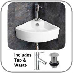Olbia Basin + Tap + Waste Set