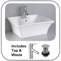 Lugo Basin + Tap + Waste Set