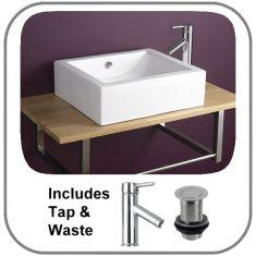 Natal Basin + Tap + Waste Set