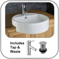 Vitoria Surface Mounted Basin Set