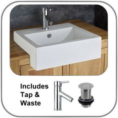 Santana Surface Mounted Basin Set