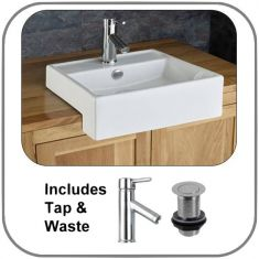 Gandra Surface Mounted Basin Set