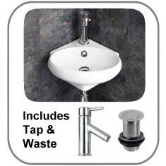Cesena Basin + Tap + Waste Set