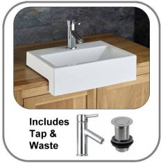 Anadia Surface Mounted Basin Set