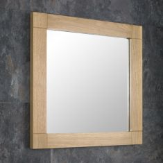 Solid Oak Mirror 60cm x 60cm