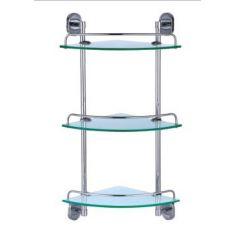 Dart Triple Corner Glass Shelf Set