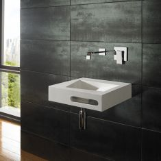 Dune Pure White Solid Surface Basin