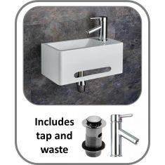 Medo Basin + Tap + Waste Set