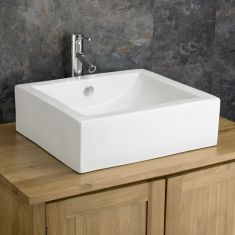 £39 VALUE RANGE Large Rectangle Countertop Bathroom Basin | Free Delivery | PIACENZA