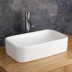 Free Standing Rectangle Countertop Bathroom Basin 490mm x 300mm REGGIO