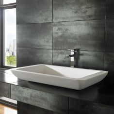 Solo Pure White Solid Surface Basin