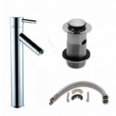 Hi Rise Tall Tap and Waste Kit