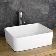 £39 VALUE RANGE  Large Rectangle Countertop Bathroom Sink 450mm x 360mm | Free Delivery | TRIESTE
