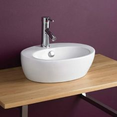 £39 VALUE RANGE Small Cloakroom Oval Bathroom Basin | Free Delivery | VALENCA