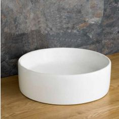 Mid Size Round Above Counter Bathroom Washbasin 350mm Diameter IMOLA