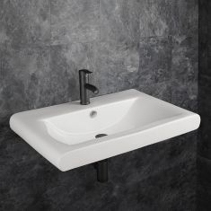 Large Curved Edged Rectangle Bathroom Basin 760mm x 495mm VENA