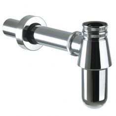 Chrome Round Bathroom Basin Bottle Trap | High Quality
