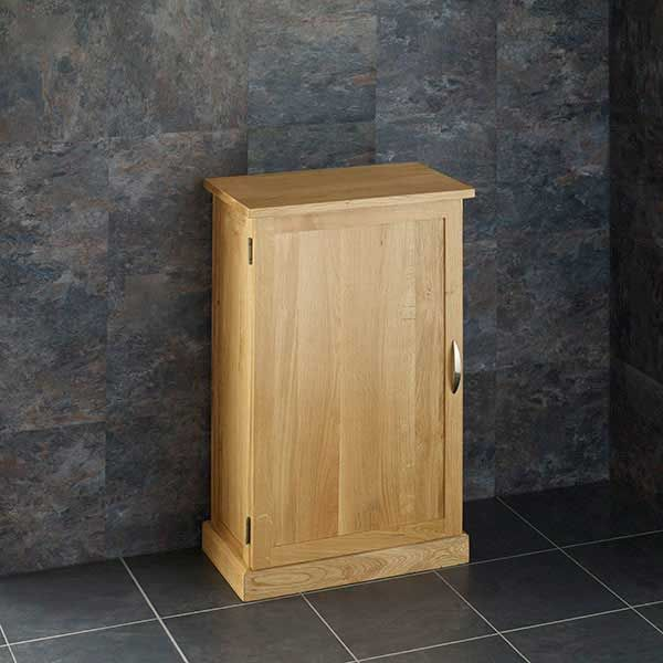 Cabinet With Frosted Glass Basin, Shallow Bathroom Cabinet