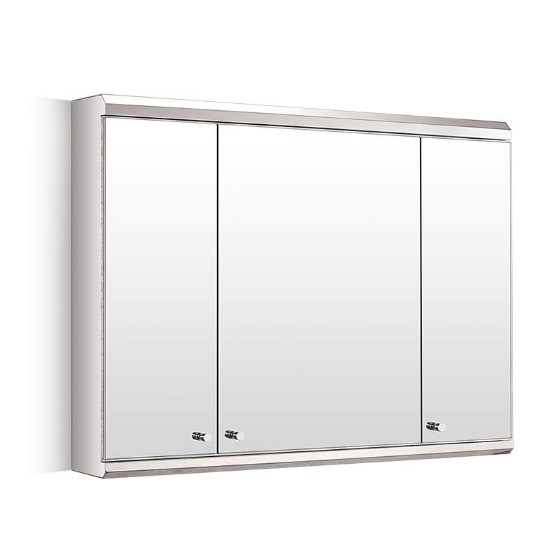 800mm Wide Triple Door Large Biscay Wall Mount Mirror ...