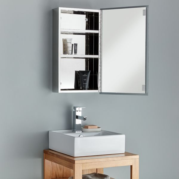 Bathroom Mirror Cabinet, Shallow Bathroom Cabinet