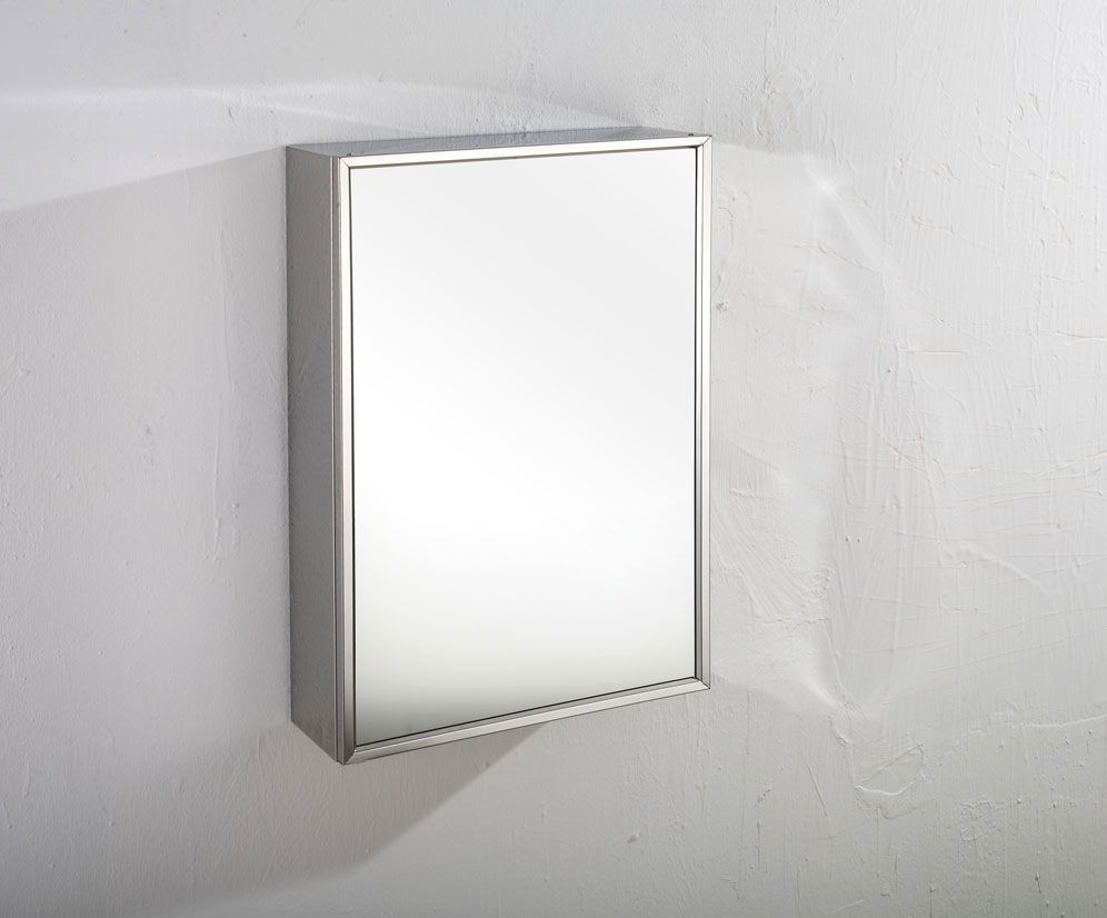 Almeria Single Door 400mm Wide X 600mm Tall Mirror