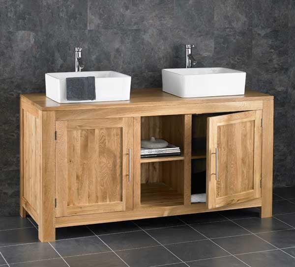 Extra Large 130cm Double Basin Vanity, Bathroom Double Sinks