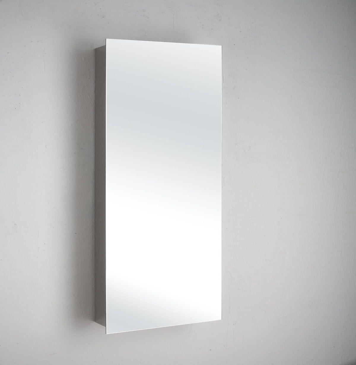 Paris Bathroom Wall Art: Narrow Paris Single Door Mirror Bathroom Wall Cabinet